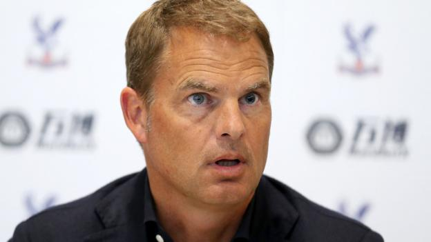 bbc.co.uk - Frank de Boer: Crystal Palace's new boss is excited to 'spend a lot of money