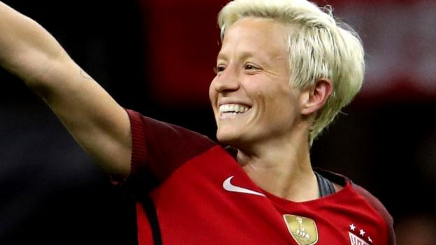 Megan Rapinoe: 'Fifa doesn't care about women's football' - BBC Sport