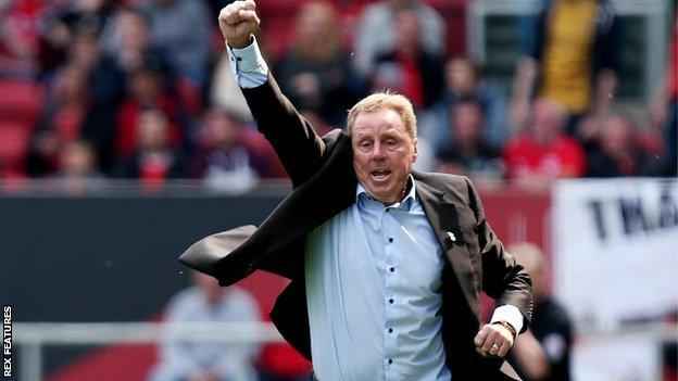 Harry Redknapp celebrated his second win in three games in charge as Birmingham City boss
