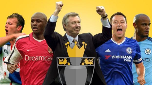 Premier League greats