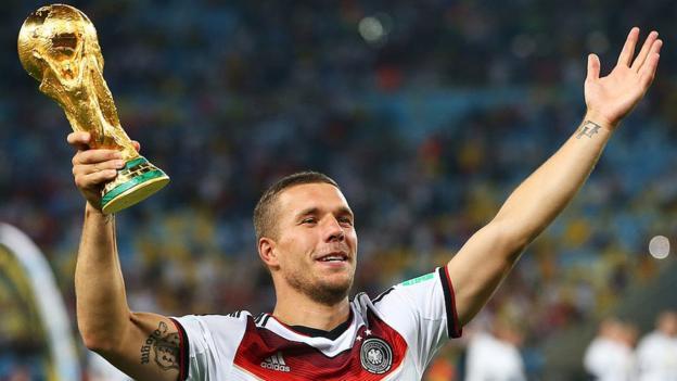 Lukas Podolski: Ex-Arsenal and Germany striker considers legal action over photo error