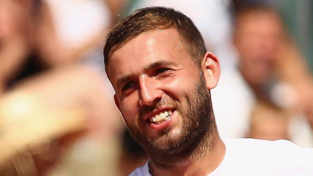 Barcelona Open: Dan Evans and Kyle Edmund through to second round