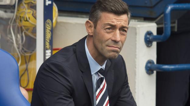 Rangers boss Caixinha takes derby rout blame