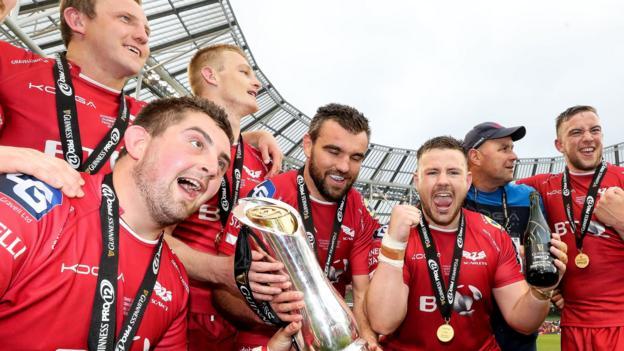Pro12 final: Munster 22-46 Scarlets