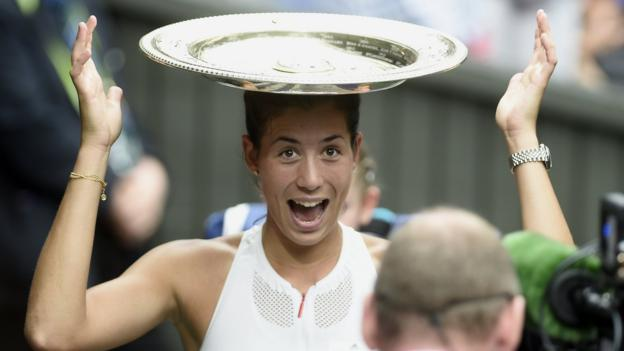 'Amazing to beat role model Williams' - Muguruza reaction & video