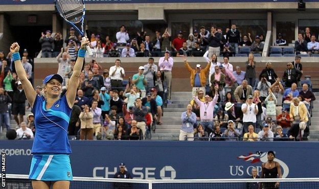 Kim Clijsters and Venus Williams