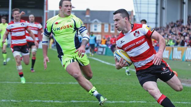 Premiership gloucester 39 30 sale sharks bbc sport - English rugby union league tables ...