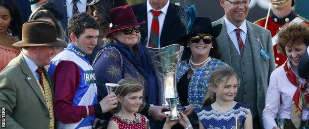 Derek Fox (second from left), Belinda McClung, Deborah Thomson and Lucinda Russell (right)