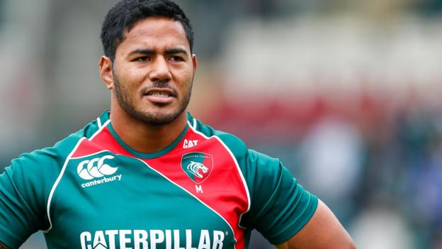 Manu Tuilagi: England centre agrees Leicester Tigers contract ...