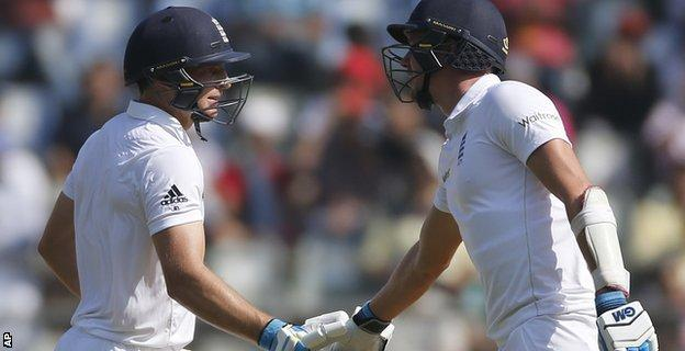 Jos Buttler and Jake Ball