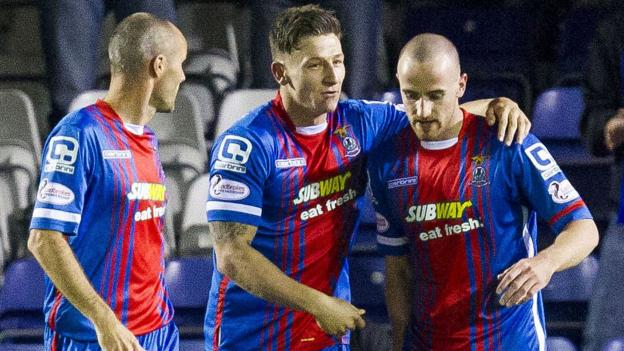 Inverness CT 2-0 Heart of Midlothian - BBC Sport