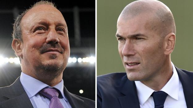 Zinedine Zidane replaces Rafael Benitez as Real Madrid coach ...