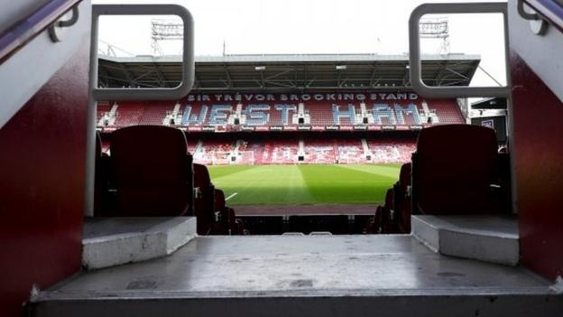 West Ham: Boleyn Ground auction of memorabilia, plus seats ...