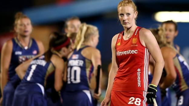 Women's Hockey World League: England lose to USA in semi-final