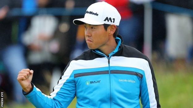 Daniel Im shares the lead after the second round at Portstewart