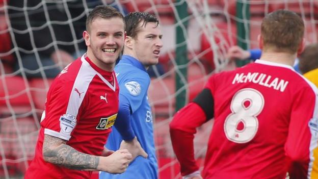 Cliftonville beat glenavon to move into third in league table bbc sport - Bbc football league 1 table ...