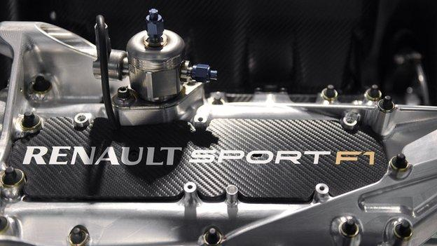 F1 to end engine restrictions in bid to improve competition - BBC Sport