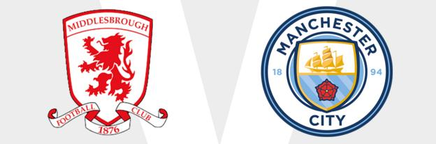 Middlesbrough v Man City