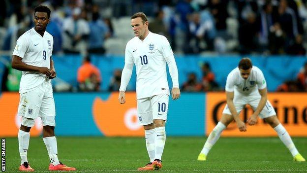 England Uruguay 2014