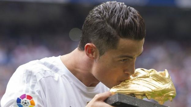 Cristiano Ronaldo: Real Madrid record breaker in numbers - BBC ...