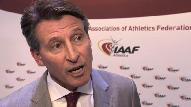 Lord Coe 'not forced' into ending Nike association - BBC Sport