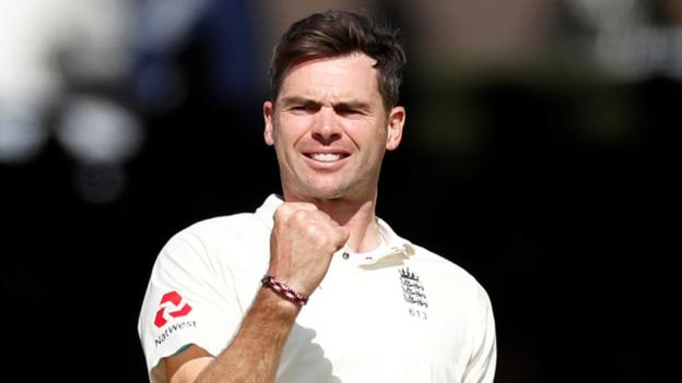 James Anderson: England bowler regains number one Test ranking