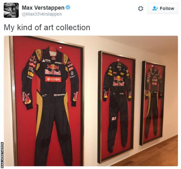 Max Verstappen tweet