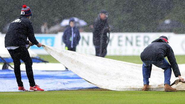 Ireland v West Indies: Stormont game abandoned because of wet pitch