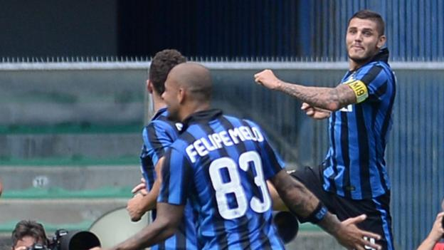 Inter Milan stay top of Serie A with 1-0 win over Chievo - BBC Sport