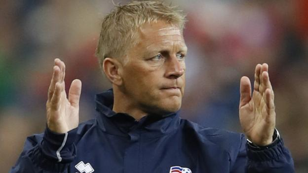 Euro 2016: Iceland co-manager Heimir Hallgrimsson targets World Cup in Russia