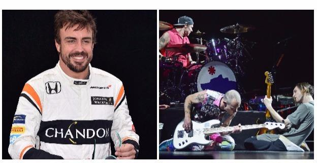 Fernando Alonso - Red Hot Chilli Peppers