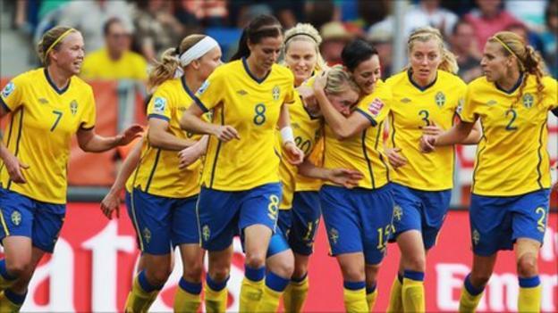 Women's World Cup 2011: Sweden 2-1 France