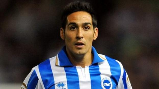 Brighton & Hove Albion take up Vicente contract option - BBC Sport