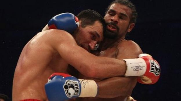 Chisora-Haye fight a freak show - Wladimir Klitschko - BBC Sport