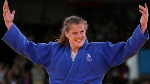 Olympics judo: Great Britain's Karina Bryant wins bronze medal ...