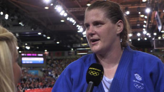 Olympic Judo: Bronze medal 'emotional' for Karina Bryant - BBC Sport