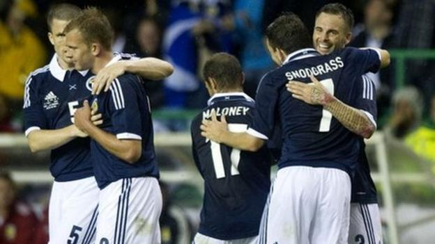 Scotland lift the gloom with morale-boosting win against ...