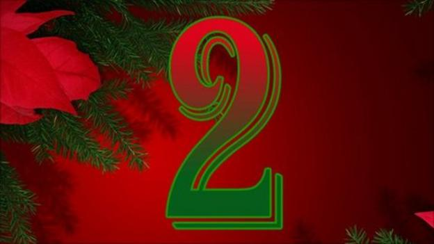 Bbc Sport 39 S Advent Calendar 2nd December Bbc Sport