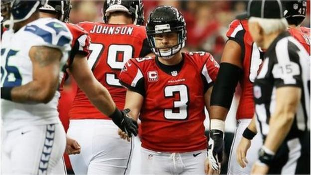 NFL play-offs: Atlanta Falcons see off Seattle Seahawks in thriller ...
