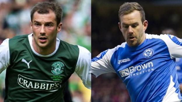 Hibernian: Kevin Thomson & Rowan Vine agree deals - BBC Sport