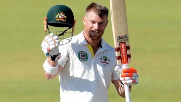 Ashes 2013: Australia's David Warner hits 193 for A side - BBC Sport