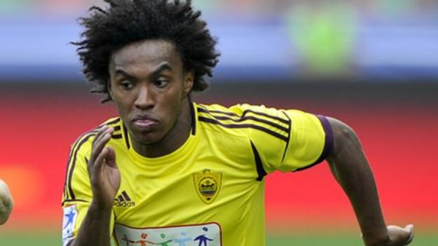 Willian: Chelsea sign Brazil midfielder on five-year contract - BBC ...
