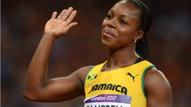 Veronica Campbell-Brown clear to compete after failed drugs test ...