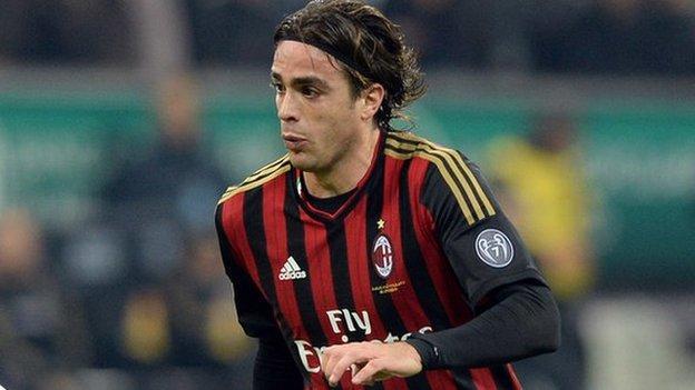 Fiorentina sign AC Milan striker Alessandro Matri - BBC Sport