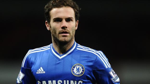Juan Mata: Man Utd yet to make bid for Chelsea midfielder - BBC ...
