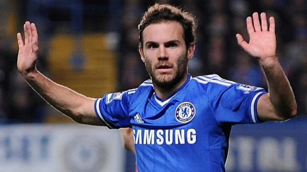 Juan Mata: Chelsea accept Manchester United's £37m bid - BBC Sport