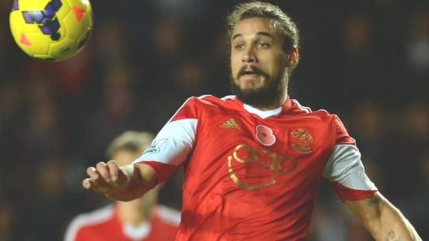 Dani osvaldo southampton striker makes move to boca for 13 american table boca raton menu