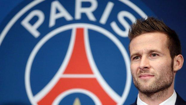 Yohan Cabaye: Newcastle midfielder joins PSG for £19m - BBC Sport