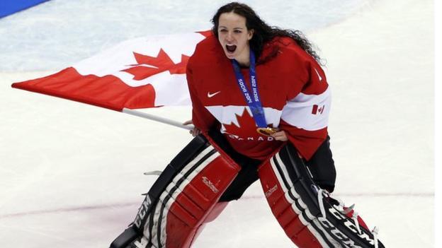 Women S Ice Hockey Pioneer Shannon Szabados Q Amp A Bbc Sport