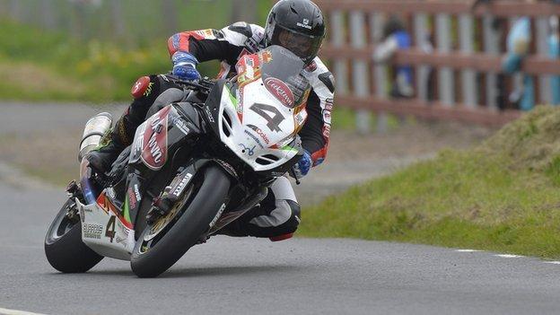 Dan kneen secures double success at kells road races bbc sport